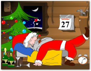 Разбуди Деда Мороза