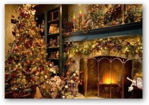 Christmas Fireplace Screensaver 5.07