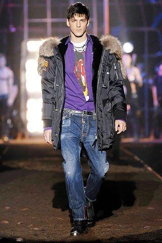 ...и ретро стилям одежды - стиль casual (с англ. - неаккуратный...
