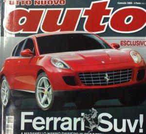 Внедорожник Ferrari F151 тайная разработка итальянцев