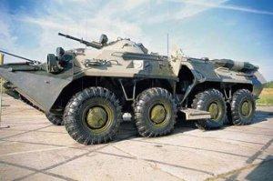 В 2008 году российская армия обзаведется пятью новыми комплектами БТР