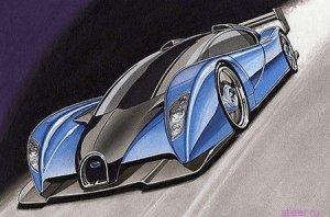 Bugatti «Project Lydia» станет самым дорогим и быстрым серийным автомобилем в мире