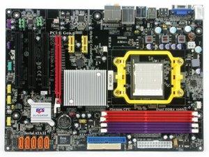 Первое знакомство с платой ECS A780GM-A на чипсете AMD RS780