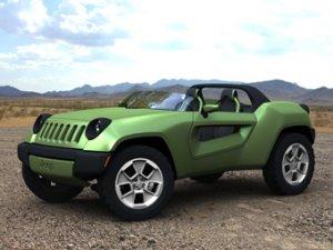 Jeep показал концептуальный внедорожник без крыши