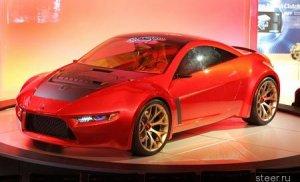 Mitsubishi привезла в Детройт спортивное купе Concept-R