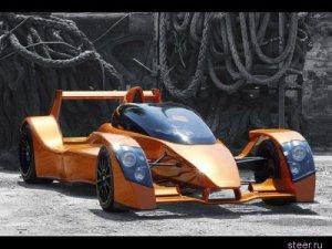 Caparo T1 - еще один соперник Veyron (6 фото)