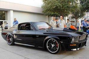 Obsidian SG One Ford Mustang-67 с наращенной мускулатурой (13 фото)