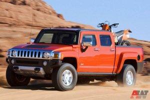 Hummer H3T: новый пикап для ковбоев