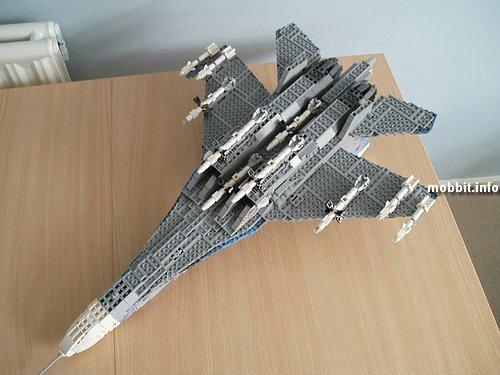 Самолет из конструктора своими