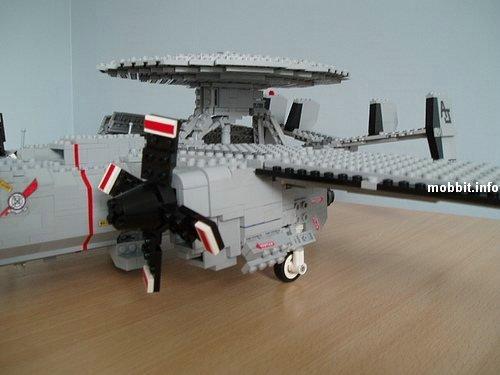 Как сделать из лего самолёт истребитель видео