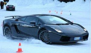 Ледяная академия Lamborghini