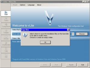Microsoft не рекомендует использовать vLite