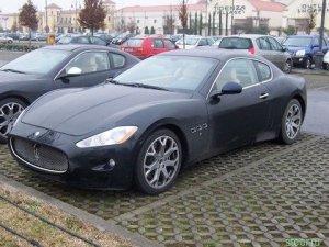 Фотографии нового спортивного купе Maserati попали в Интернет (3 фото)