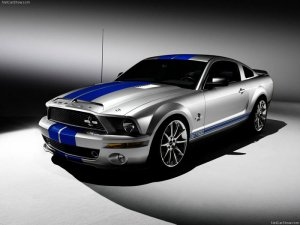 2008 Ford Mustang Shelby GT500KR (6 фото)