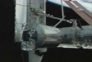 Астронавты вошли в новый блок МКС
