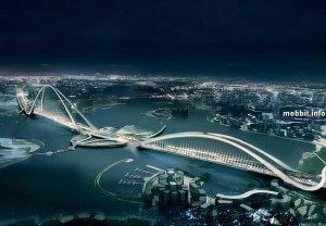 Самый большой в мире арочный мост будет построен в Дубае (5 фото)
