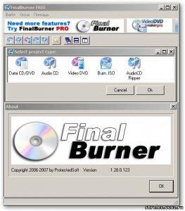 FinalBurner FREE 2.1