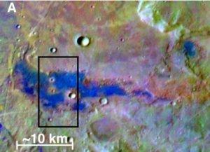 На Марсе найдены залежи соли