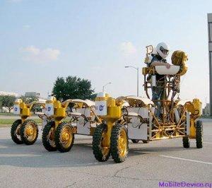 NASA проверяет прототип лунной колесницы