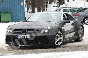 AMG сделал родстер Mercedes SL65 мощнее суперкара SLR McLaren
