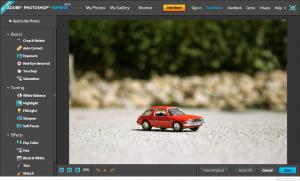 Adobe представила бесплатную веб-версию Photoshop