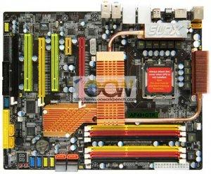 Плата SUPoX AP48+GTR: чипсет Intel X48 и поддержка DDR2/DDR3