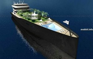 WallyIsland - настоящий плавающий остров