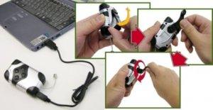 Cranking MP3 Player - подзаряди свой плеер пальцем