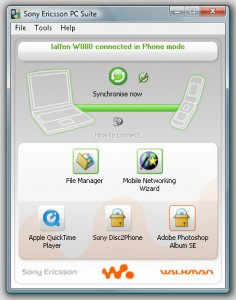 Sony Ericsson PC Suite 3.209.00 Russian