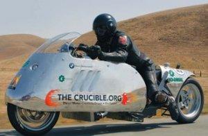 Рекордный биодизельный мотоцикл