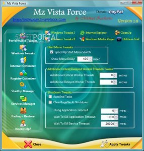 Mz Vista Force 1.8