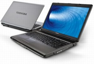 Toshiba Satellite L350: 17-дюймовый ноутбук за $750