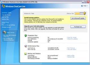 Windows Live OneCare 2.5.2900.28