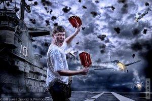 Креатив от фотохудожника James Quantz Jr.
