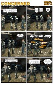 Комикс по мотивам игры Half life 2