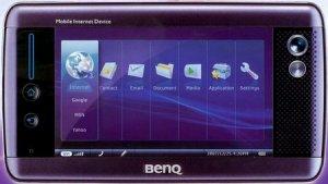 BenQ разработала MID на базе процессора Atom и с экраном G-Senser