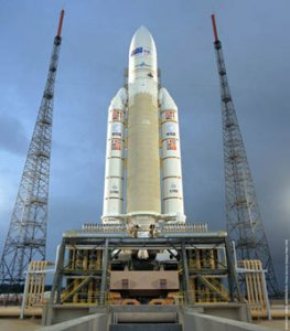 Европейская Ariane-5 вывела на орбиту 2 спутника связи