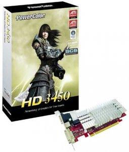 PowerColor HD 3450: теперь с удвоенным объёмом памяти