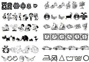 Символьные шрифты. Часть 2