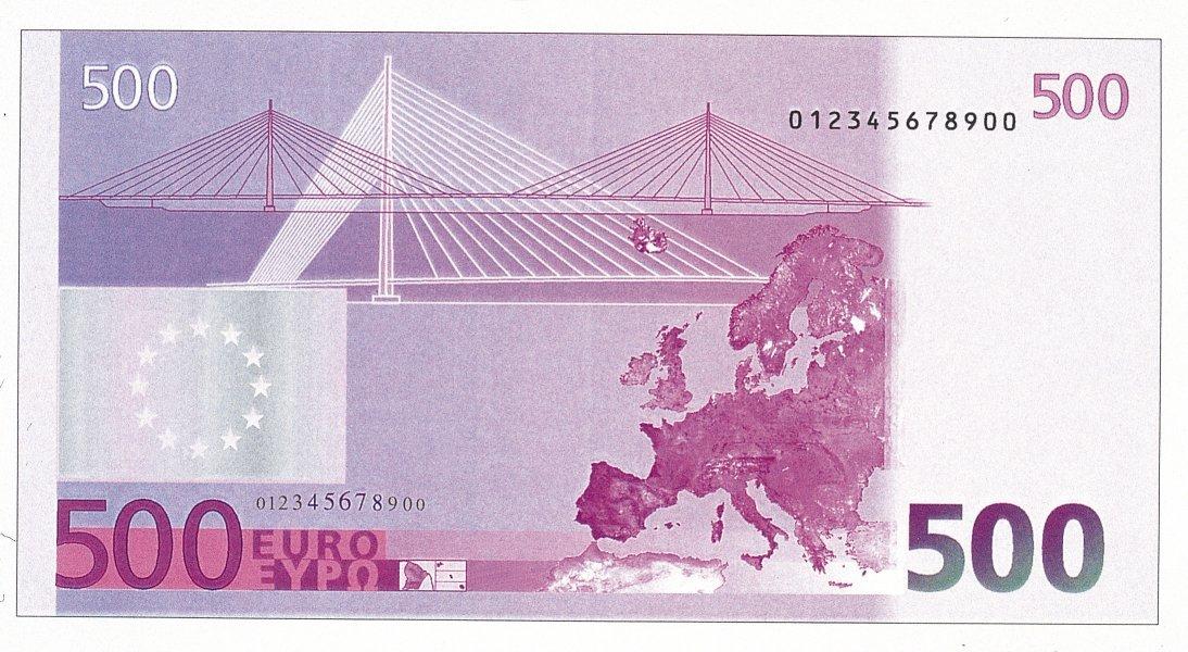 Все банкноты и монеты евросоюза