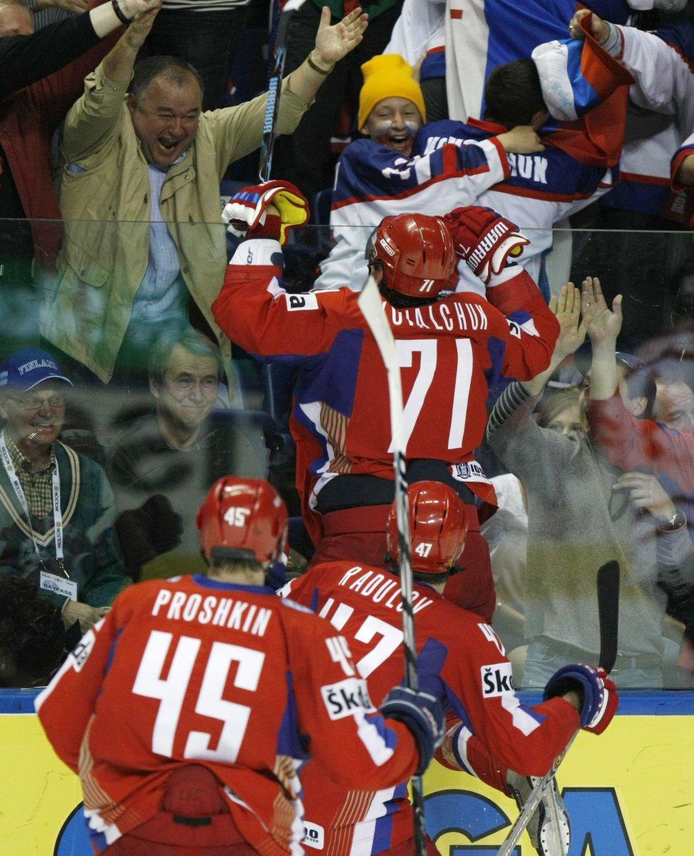 Хоккей россия канада 2008 2 фотография