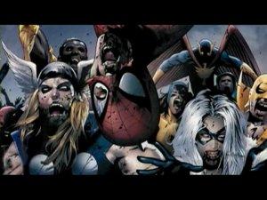 Трэйлер к серии комиксов Marvel Zombies.