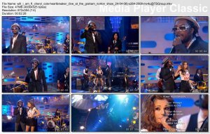 Will.i.am ft. Cheryl Cole - Heartbreaker (live 24-04-08)
