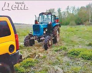 Тяжелая это работа – бип-Билана тащить из болота
