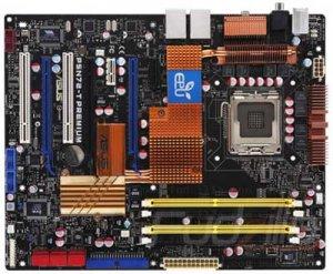 Плата ASUS P5N72-T Premium c поддержкой 3-Way SLI