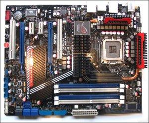 Фото платы ASUS R.O.G. Maximus II Formula на Intel P45
