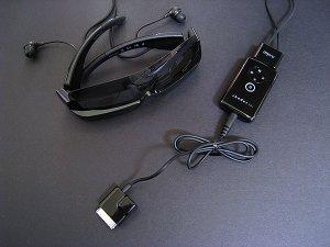 Стерео-очки для iPod
