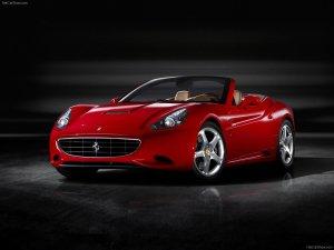 Новая модель Ferrari получила имя California (3 фото)