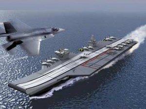 Великобритания начнет строительство авианосцев будущего