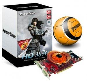 PowerColor Radeon HD 3870: видеокарта плюс футбольный мяч